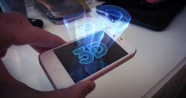 В Китае презентовали «безочковый» 3D-смартфон