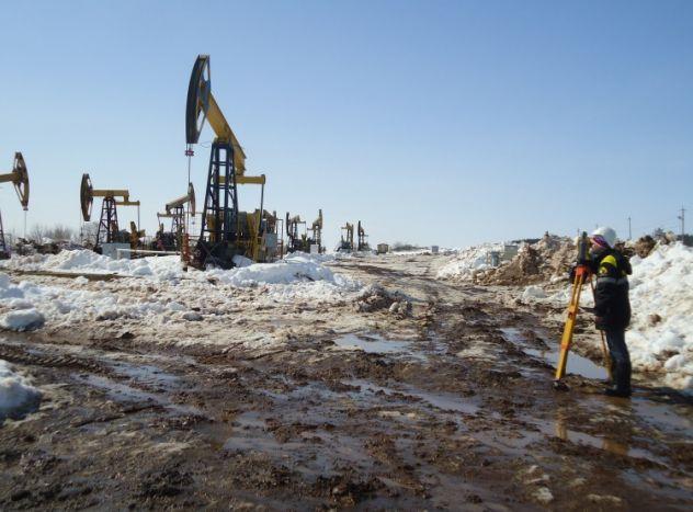 ВКаракулинском районе Удмуртии разлилась нефть