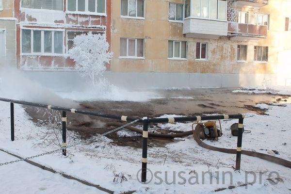 Ремонт теплотрассы на улице 10 лет Октября в Ижевске начнут после потепления