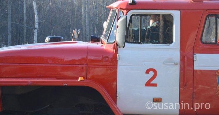 Впожаре вКезском районе Удмуртии погибла женщина