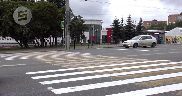 Установку светофоров наЦентральной площади Ижевска завершат к3октября