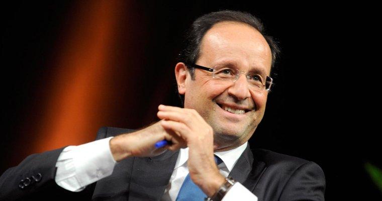 Олланд проголосовал научастке— Выборы воФранции