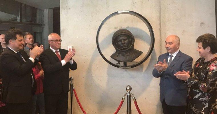 ВСловении открыли монумент Юрию Гагарину