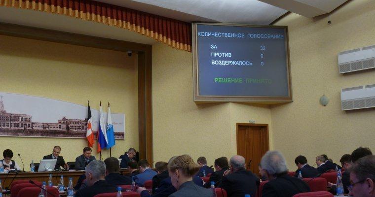 Дума Ижевска утвердила бюджет города на следующий год