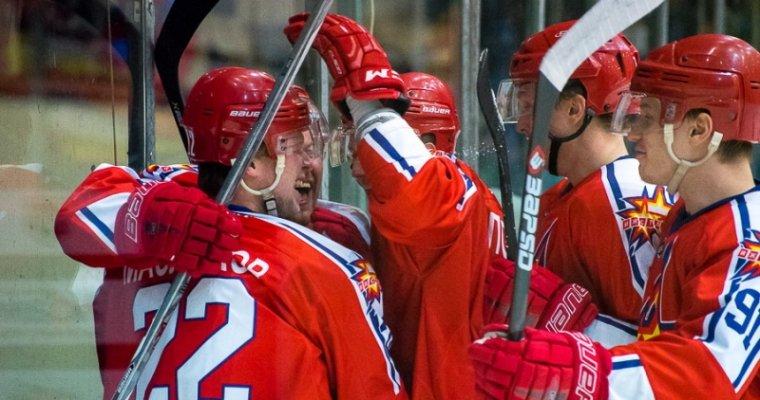 Хоккеисты «Ижстали» одержали победу вматче вХарбине
