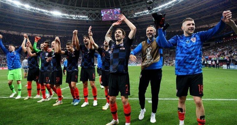 Хорватские футболисты смогли обыграть англичан в «Лужниках» и вышли в финал