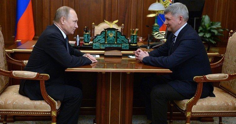 Путин преждевременно закончил полномочия воронежского губернатора Алексея Гордеева