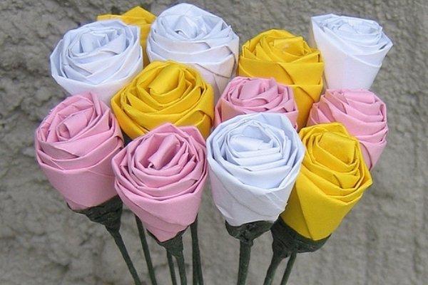Акция белый цветок как сделать белый цветок из бумаги своими руками