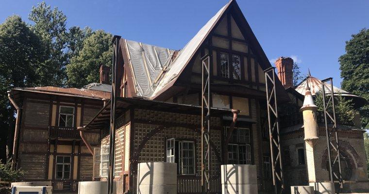 ВПетербурге начали реставрировать дачу Гаусвальд, где снимали «Шерлока Холмса»