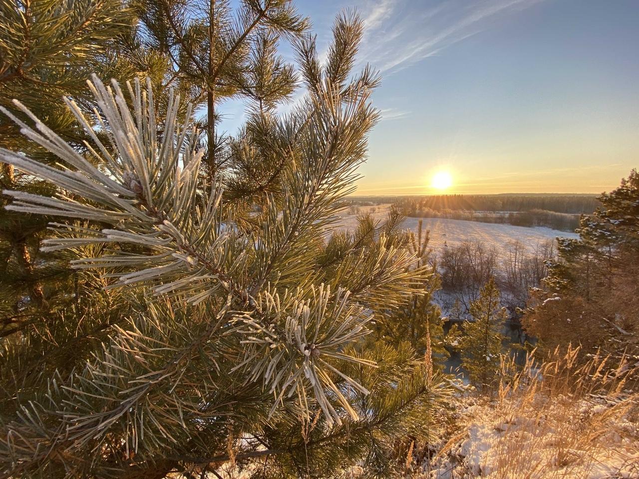 До -10 градусов опустятся столбики термометров в Удмуртии в среду, 18 ноября