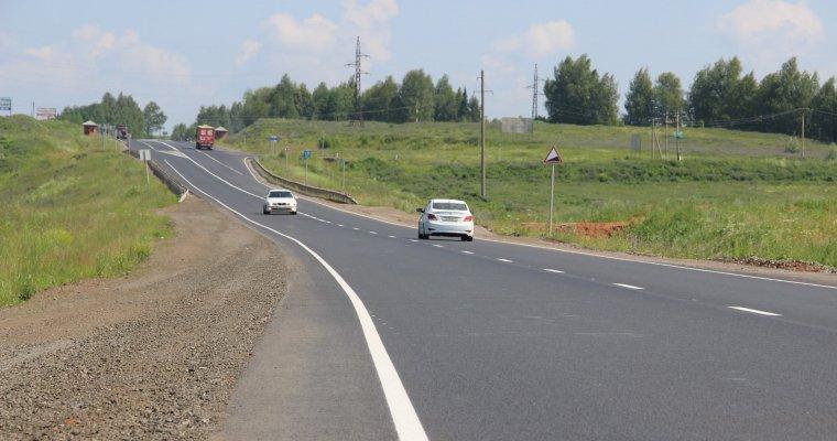ВУдмуртии завершили ремонт участка дороги Ижевск-Воткинск
