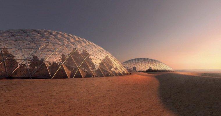 Здесь будет город-сад. Арабские Эмираты объявили о клубнике и финиках на Марсе