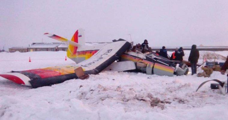 При крушении самолета в Российской Федерации погибли 2 человека| самолет, нарьян мара