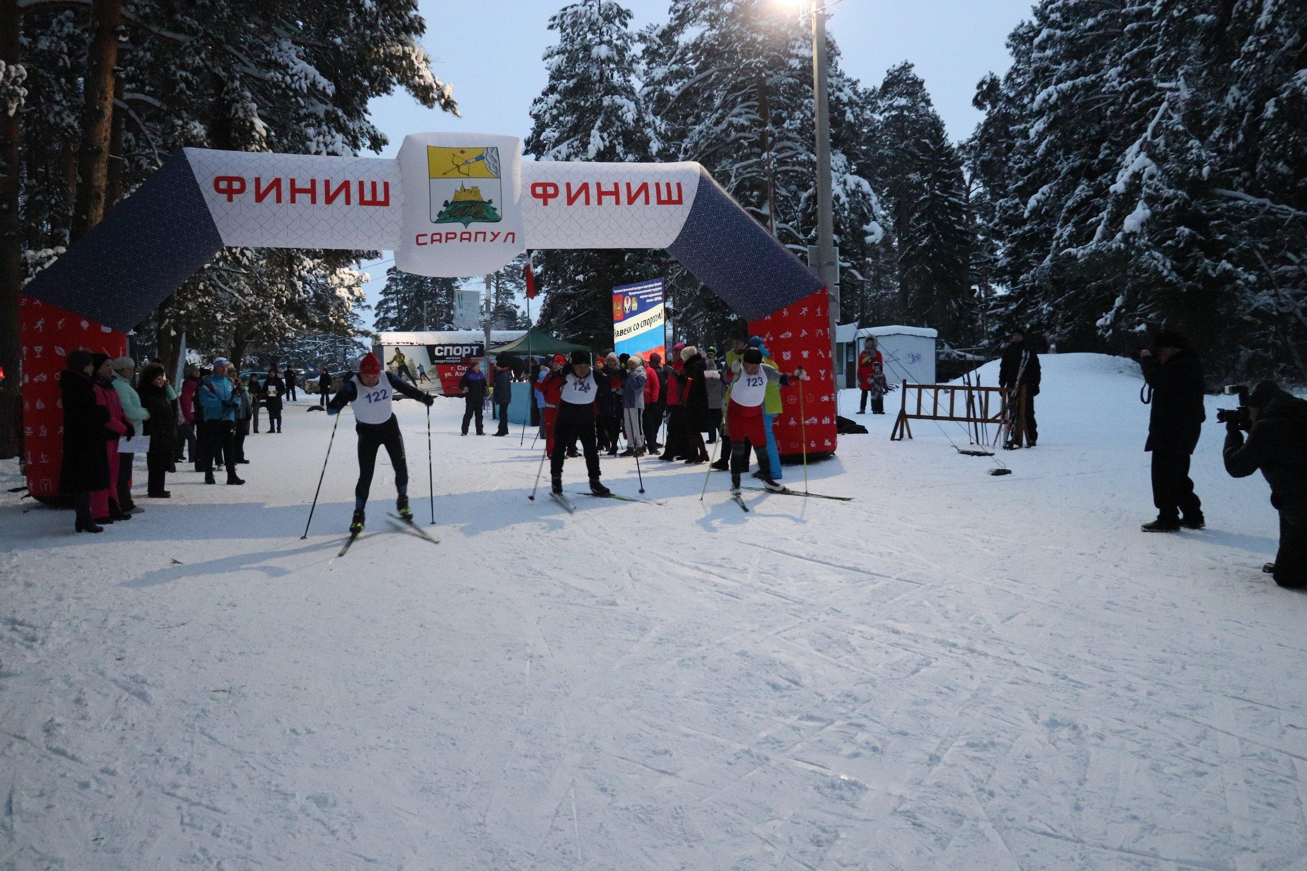 В Сарапуле спустя 10 месяцев официально открыли «Светлую лыжню»