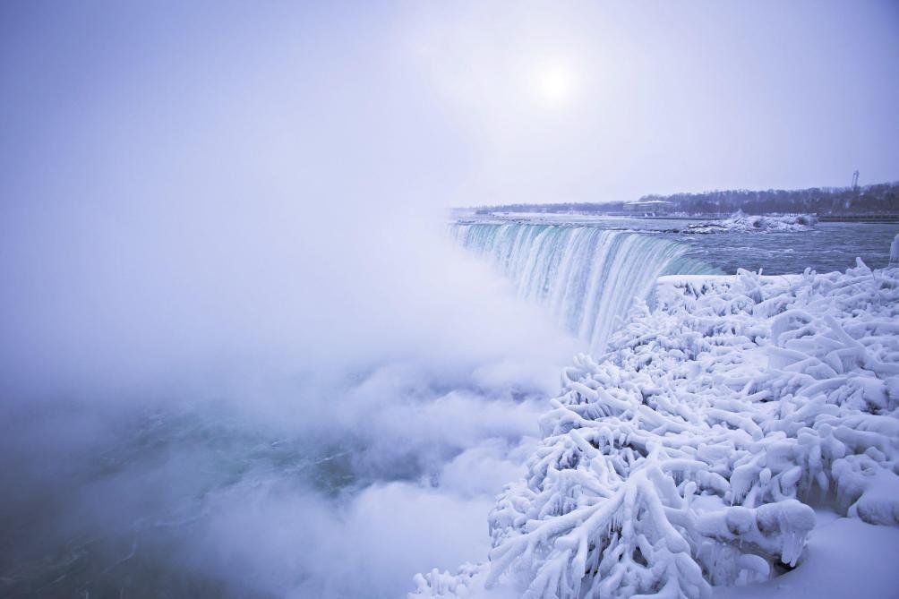 Серьёзные холода установились насеверо-востоке США