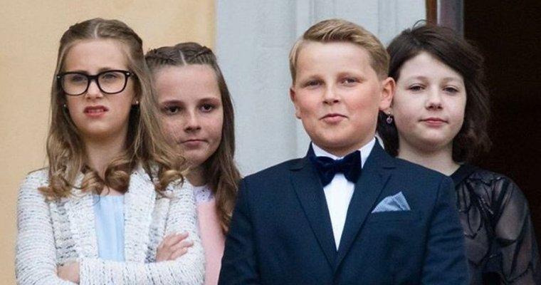 Daily Mail: 11-летний норвежский принц мило нарушил протокол