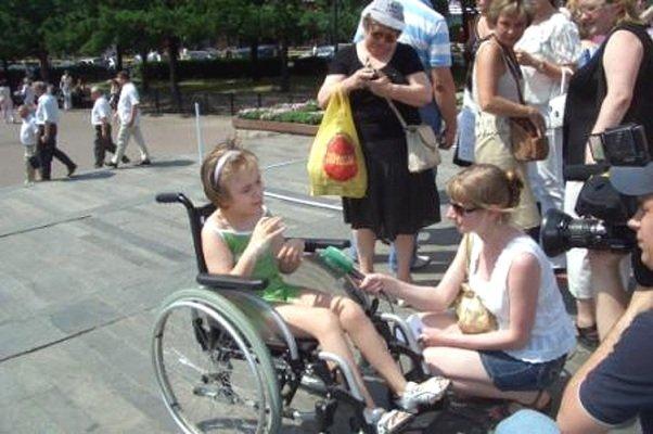 Детей с инвалидностью вводить в общество