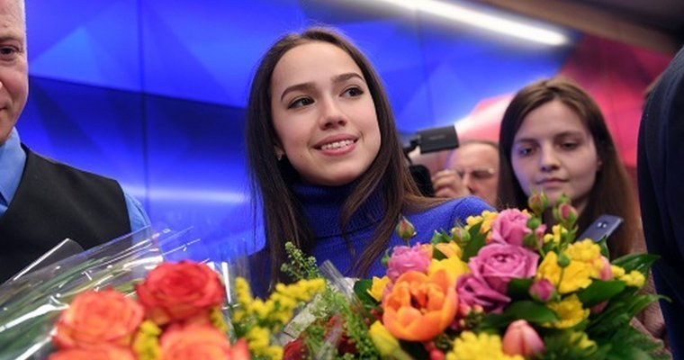 Загитова занимает 2-ое  место после короткой программы наЧМ вИталии