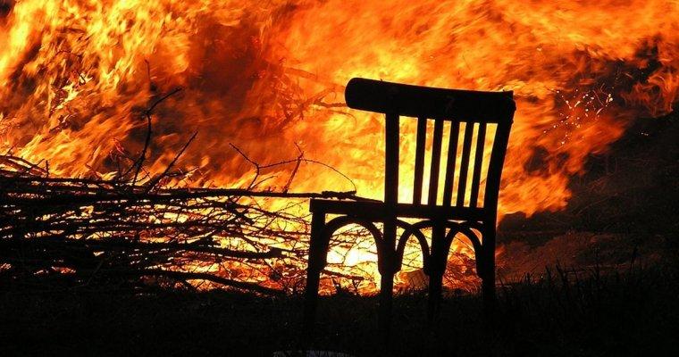 Впожаре вУдмуртии погибли трое мужчин