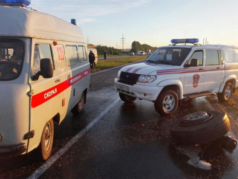 ВТатарстане задержаны водители столкнувшихся автобуса и«КамАЗа»