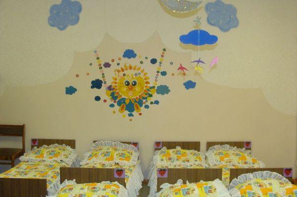 Оформление спальни детского сада своими руками