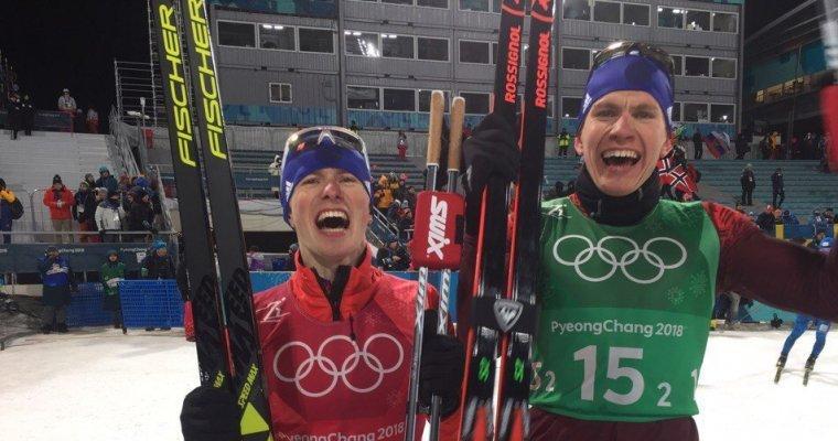 Русские лыжники взяли серебро вкомандном спринте