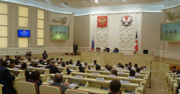Вопрос ометоде перераспределения мандатов партий сняли сповестки сессии государственного совета Удмуртии
