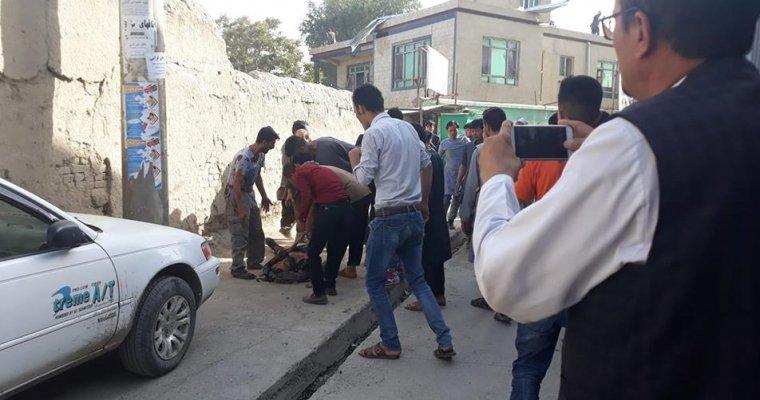 Смертник вКабуле устроил взрыв вобразовательном заведении , 48 человек погибли