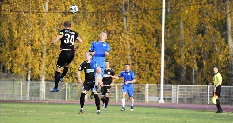 Футболисты «Зенита-Ижевск» проиграли «Тюмени» на своем поле