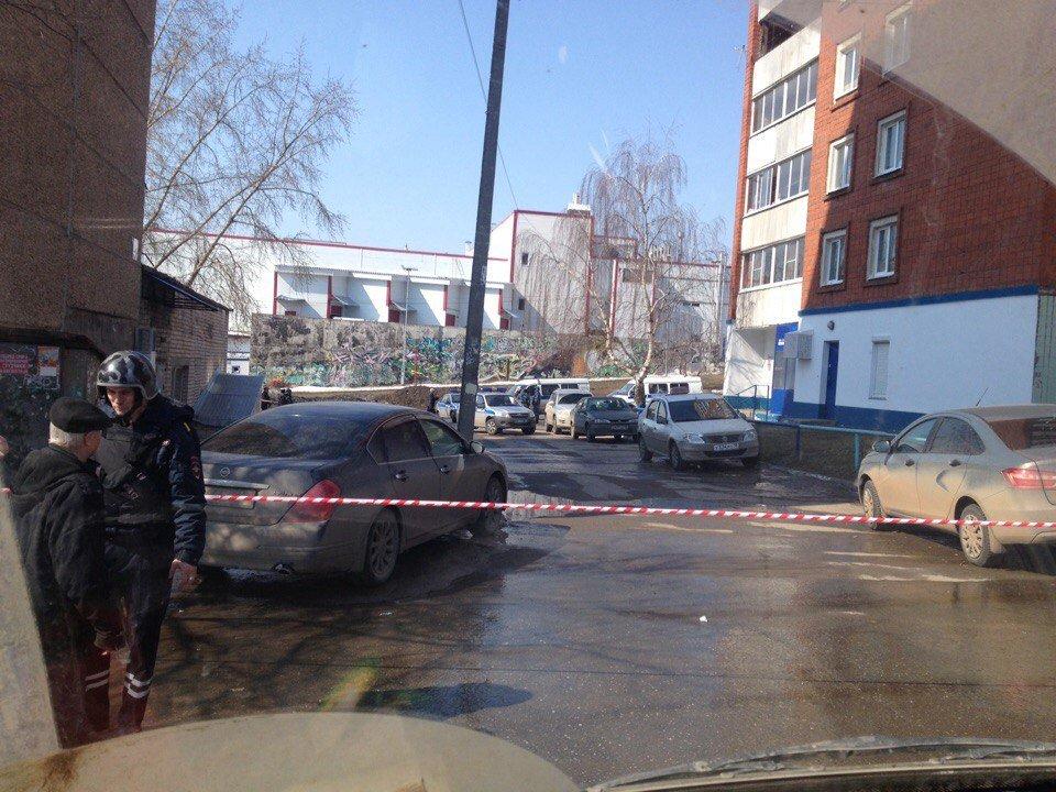 Пустой корпус гранаты был найден вИжевске наулице Барышникова