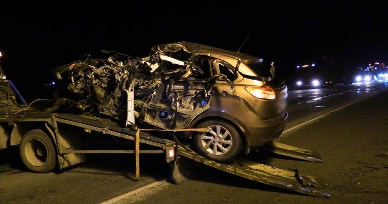 Ехавший без включенных фар шофёр умер натрассе вУдмуртии