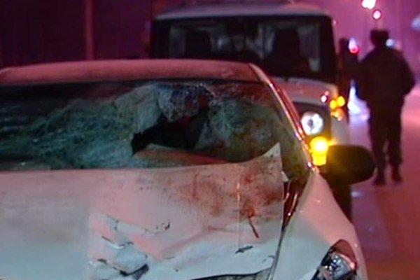 Видео с места, где автомобиль сбил женщину с двумя детьми в Москве