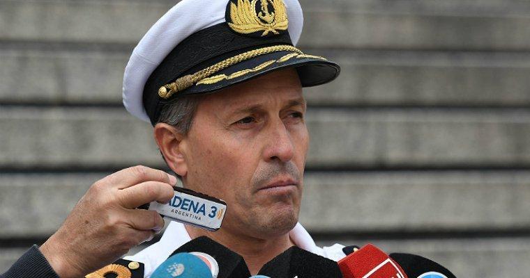 ВМС Аргентины: Пропавшие подводники могут быть живыми