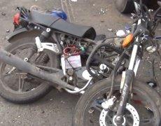 Под Курском мотоциклист погиб, столкнувшись с грузовиком