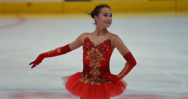 Алина Загитова идёт 3-й натурнире вИталии после короткой программы