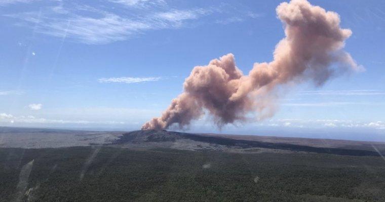 НаГавайях проснулся мощнейший вулкан Килауэа: видео разрушительных последствий
