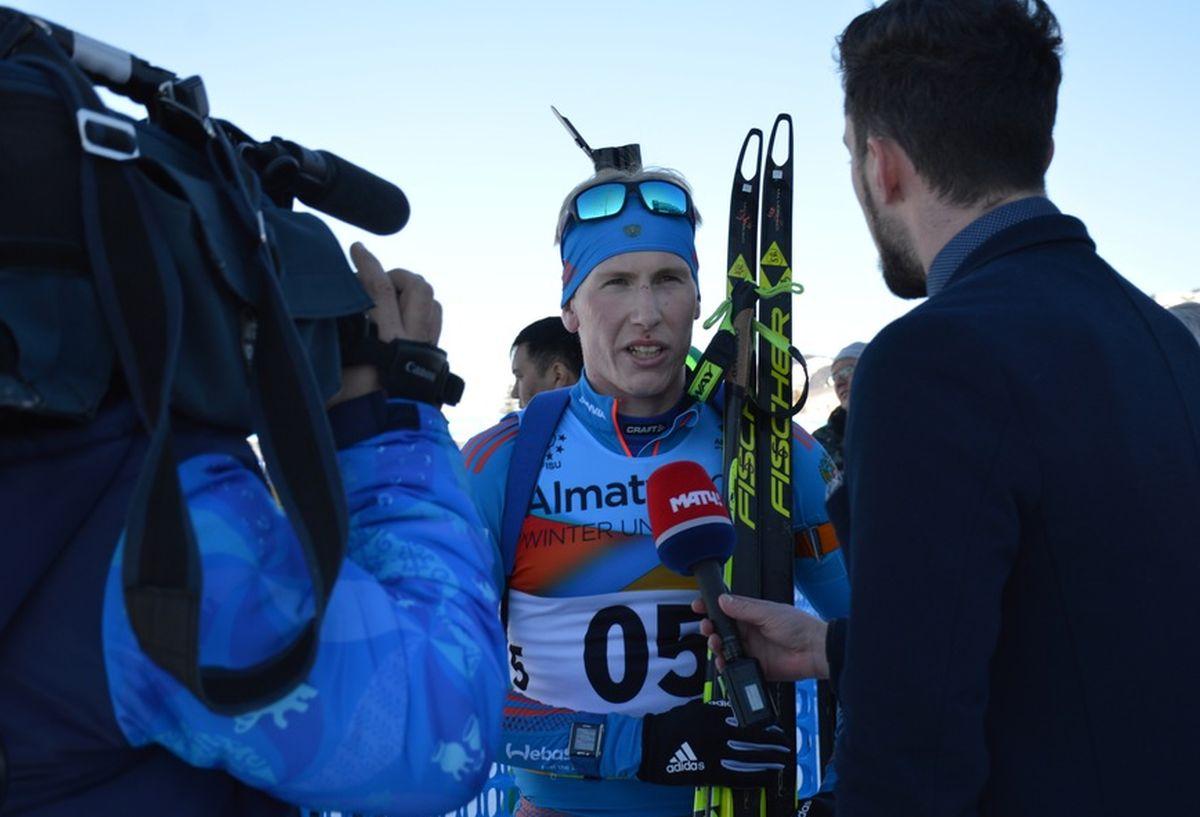 Евгений Гараничев стал чемпионом Российской Федерации вгонке преследования