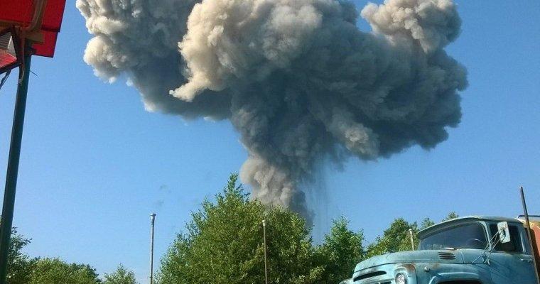 Двое воронежцев пострадали при взрыве склада боеприпасов вАбхазии