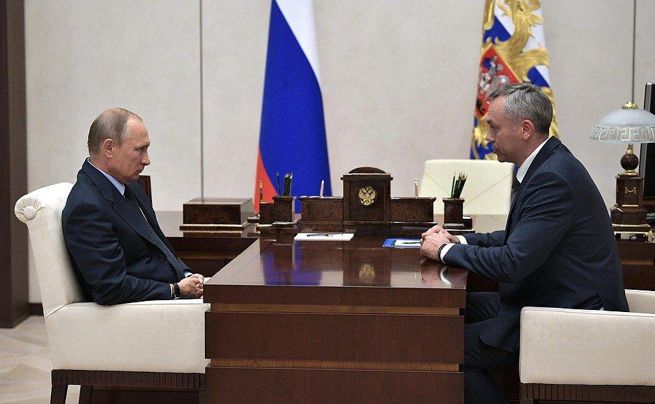 Путин назначил мэра Вологды Андрея Травкина руководить Новосибирской областью