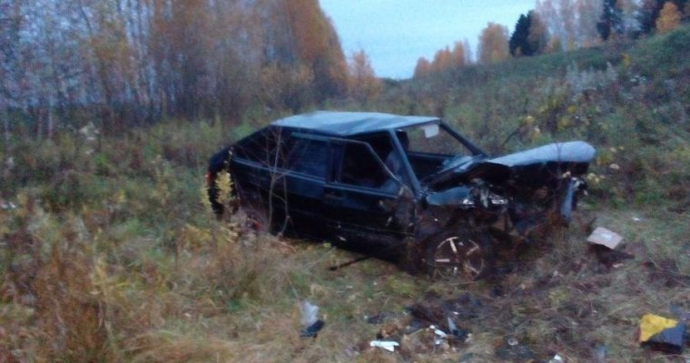 ВСелтинском районе Удмуртии повине нетрезвого водителя погибли два пассажира