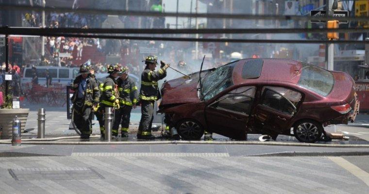 Водитель, совершивший наезд вНью-Йорке, хотел «убить ихвсех»