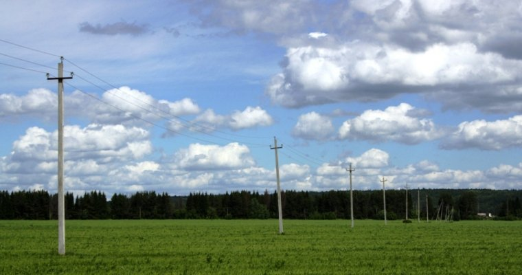 Электроснабжение восстановили вчетырех районах Удмуртии после грозы