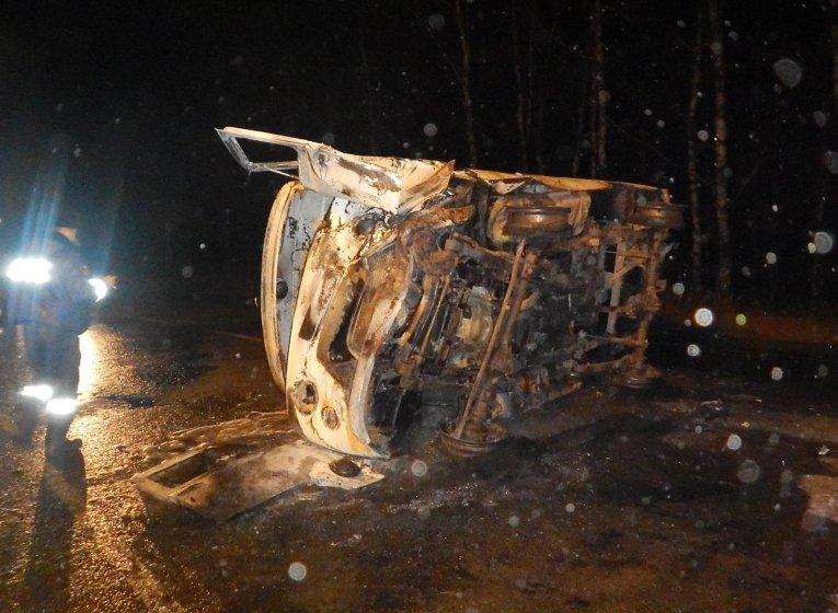 Один человек умер и 4 пострадали вДТП со«скорой» вУдмуртии