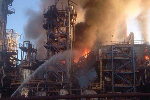пожар на заводе уфа словами, чем ближе
