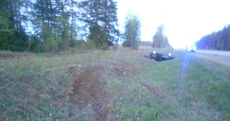 Фото смертельного ДТП: на трассе Ижевск-Воткинс 23-летний водитель погиб из-за лося