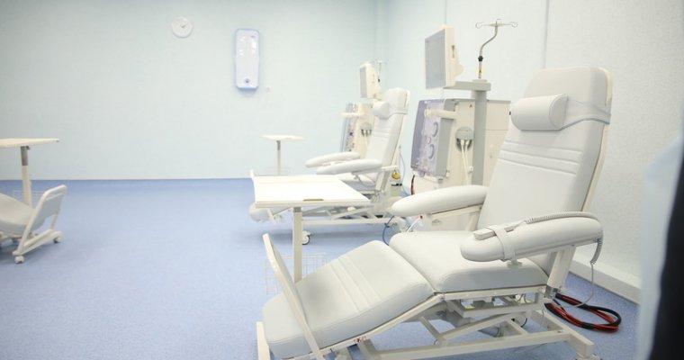 Вижевской городской клинике №6 открылось отделение гемодиализа