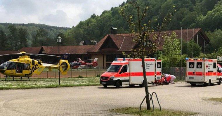 Насевере Баварии произошел взрыв