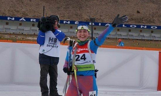 Российский биатлонист Малиновский выиграл гонку преследования на юниорском ЧЕ