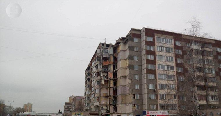 Жителям обрушившегося дома вИжевске разрешили вернуться вквартиры