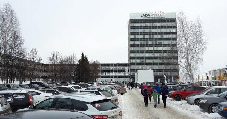 Завод Лада вИжевске выпустил 5-миллионный автомобиль